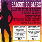 Soirée Country 10 mars 2018 Rumilly